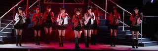 Morning Musume sets the stage on fire with Nai Chau Kamo.